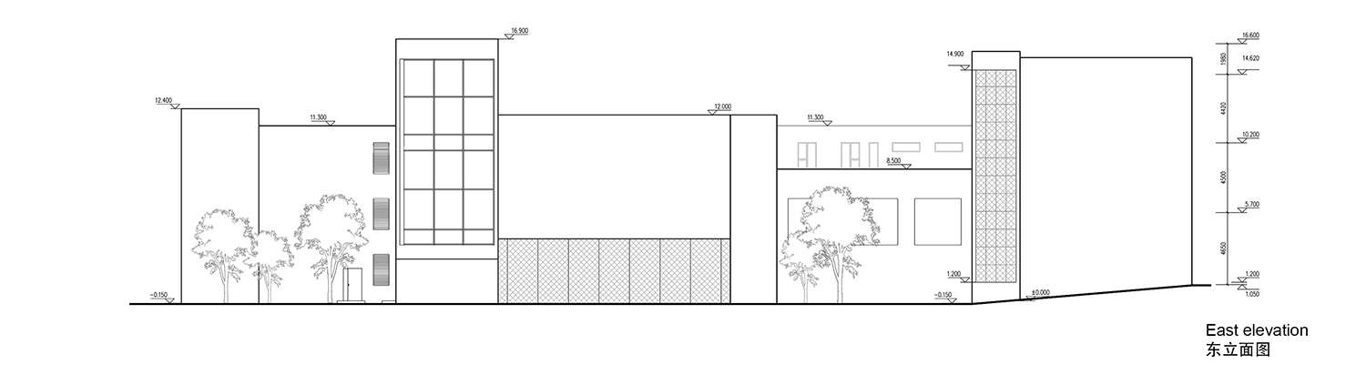 east elevation Interval Architects}