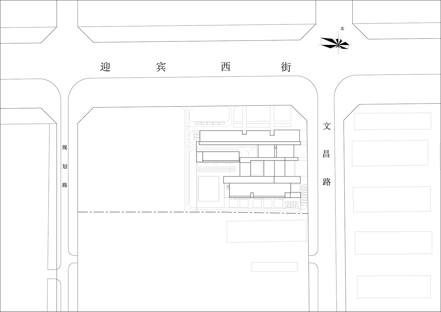 site plan Interval Architects}