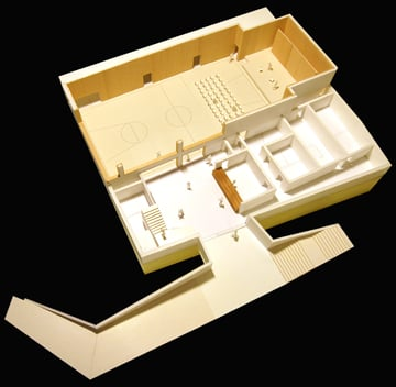 Model 1:100 MoDusArchitects}