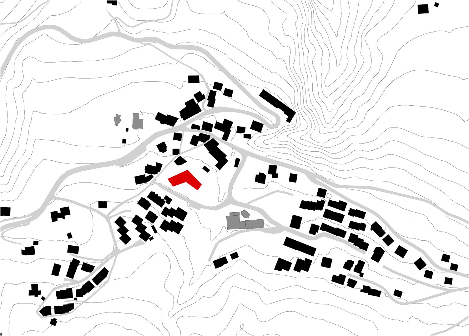 Siteplan St.Andrea 1:5000 MoDusArchitects}