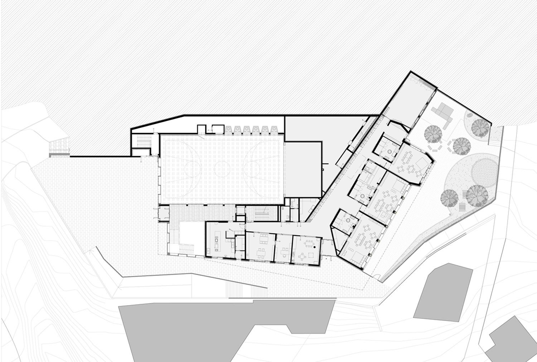 Ground floor plan: Kindergarten MoDusArchitects}