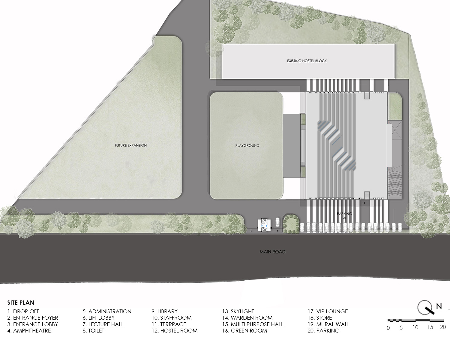 SITE PLAN KNS ARCHITECTS}