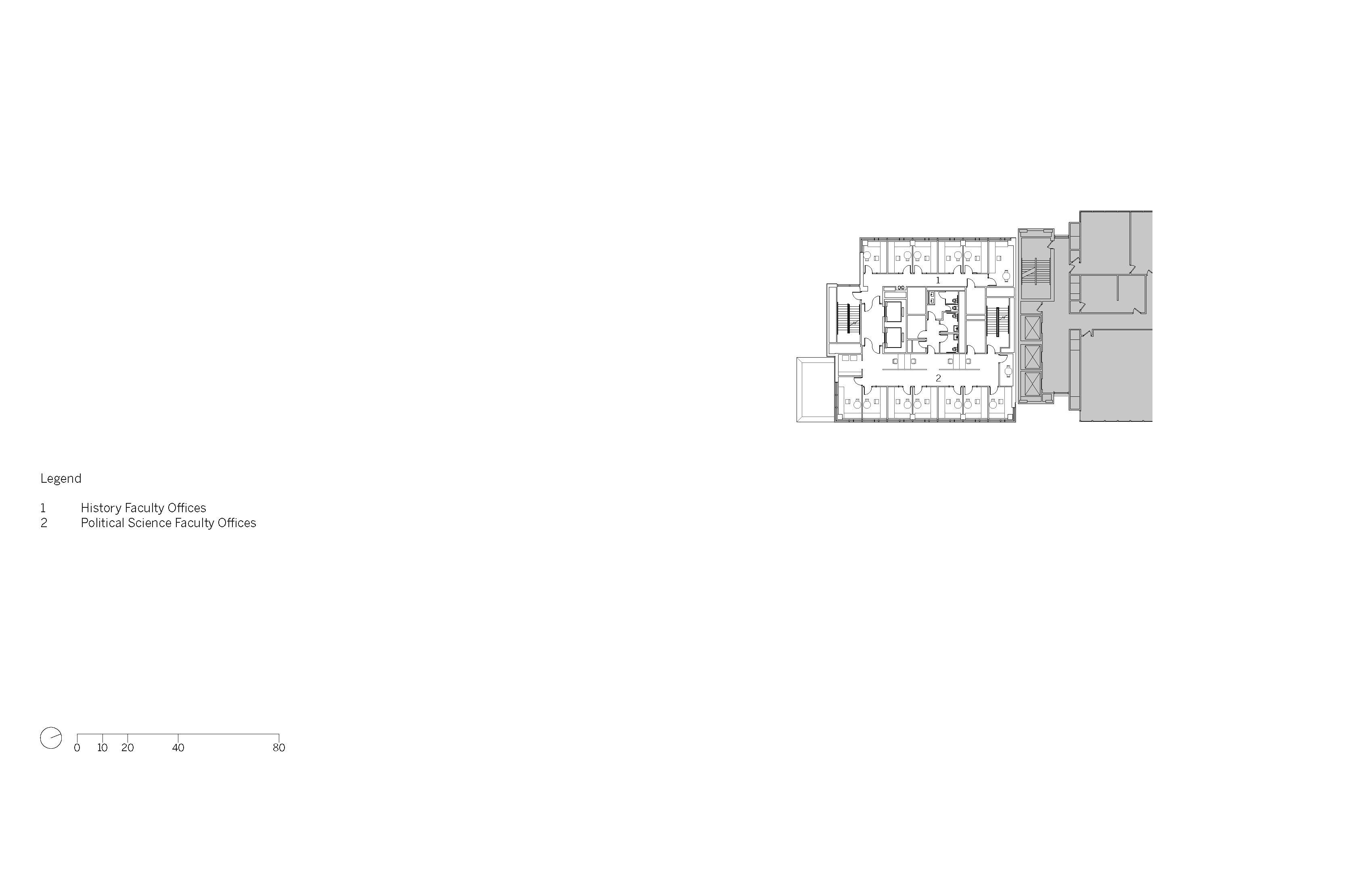 Level 10 Floor Plan Image © SOM}