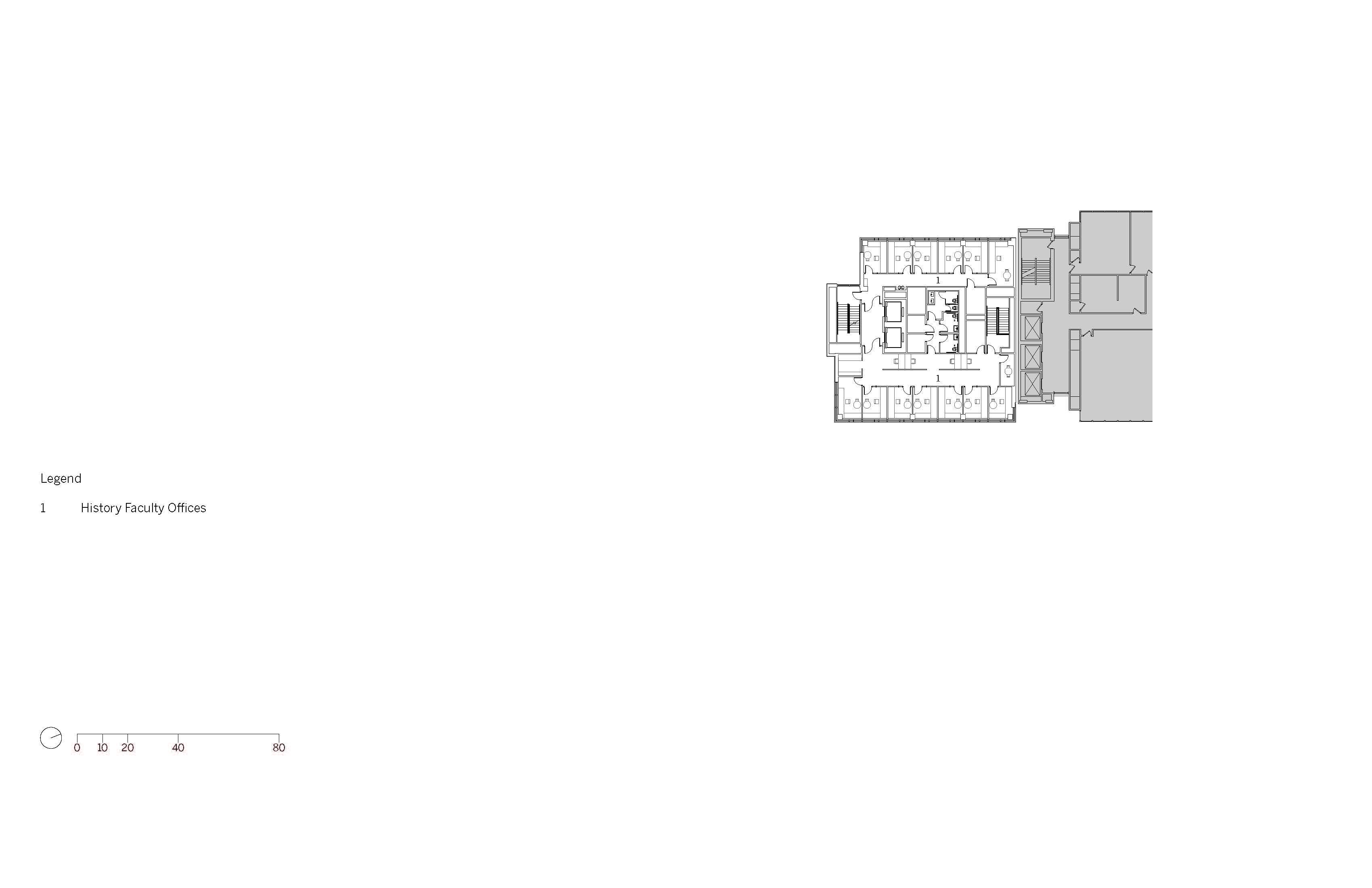 Level 11 Floor Plan Image © SOM}
