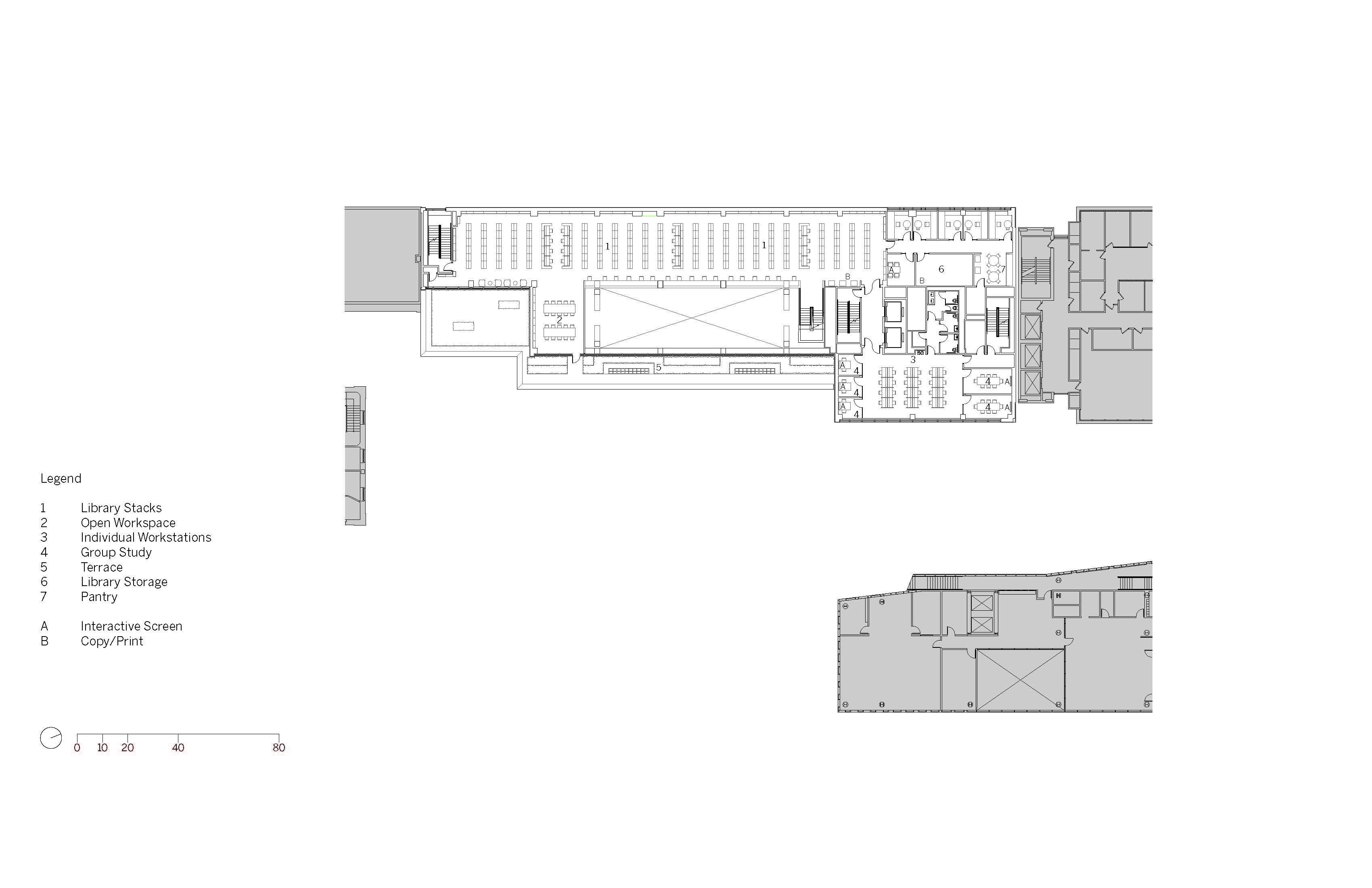 Level 3 Floor Plan Image © SOM}
