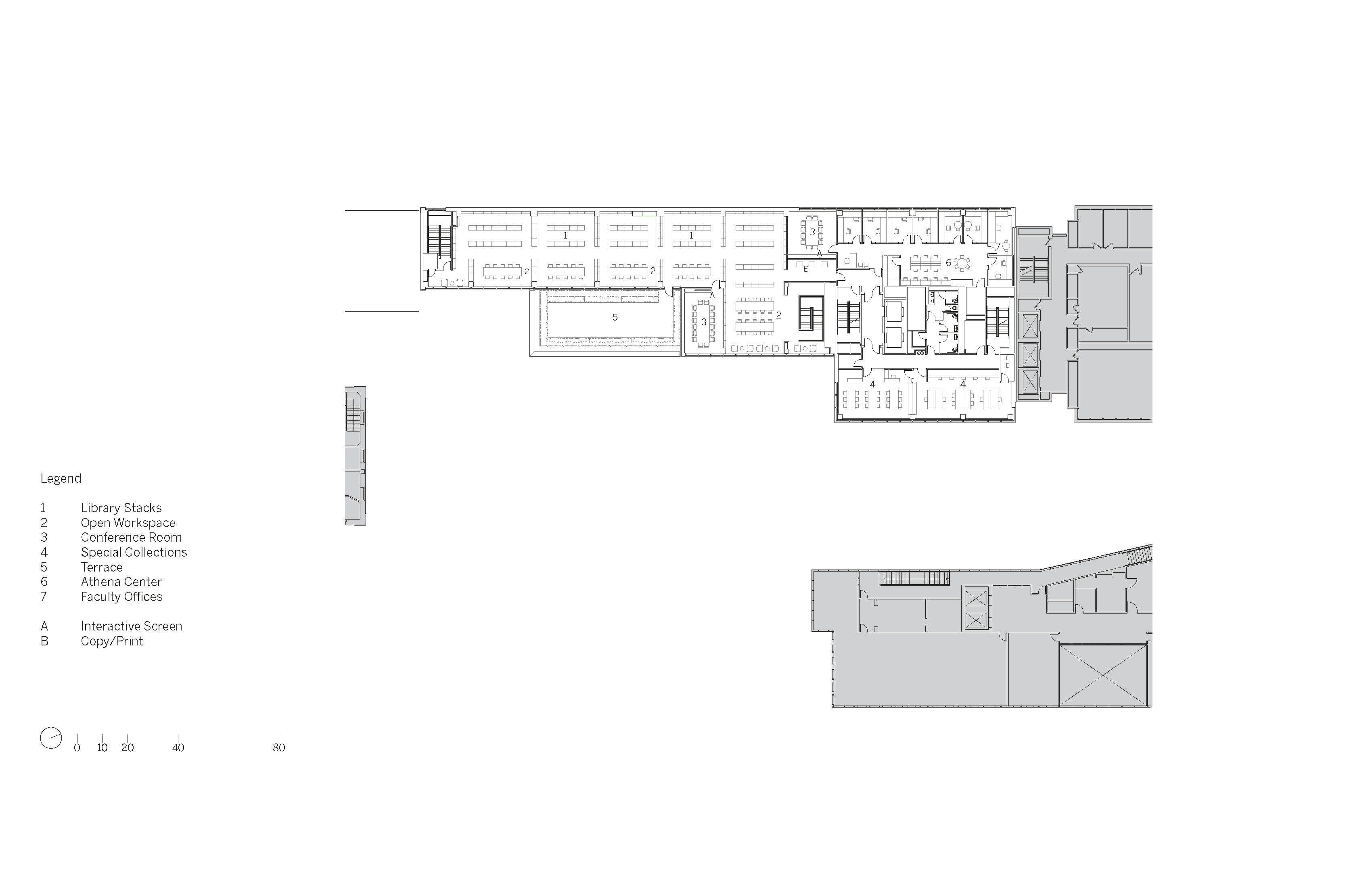 Level 4 Floor Plan Image © SOM}