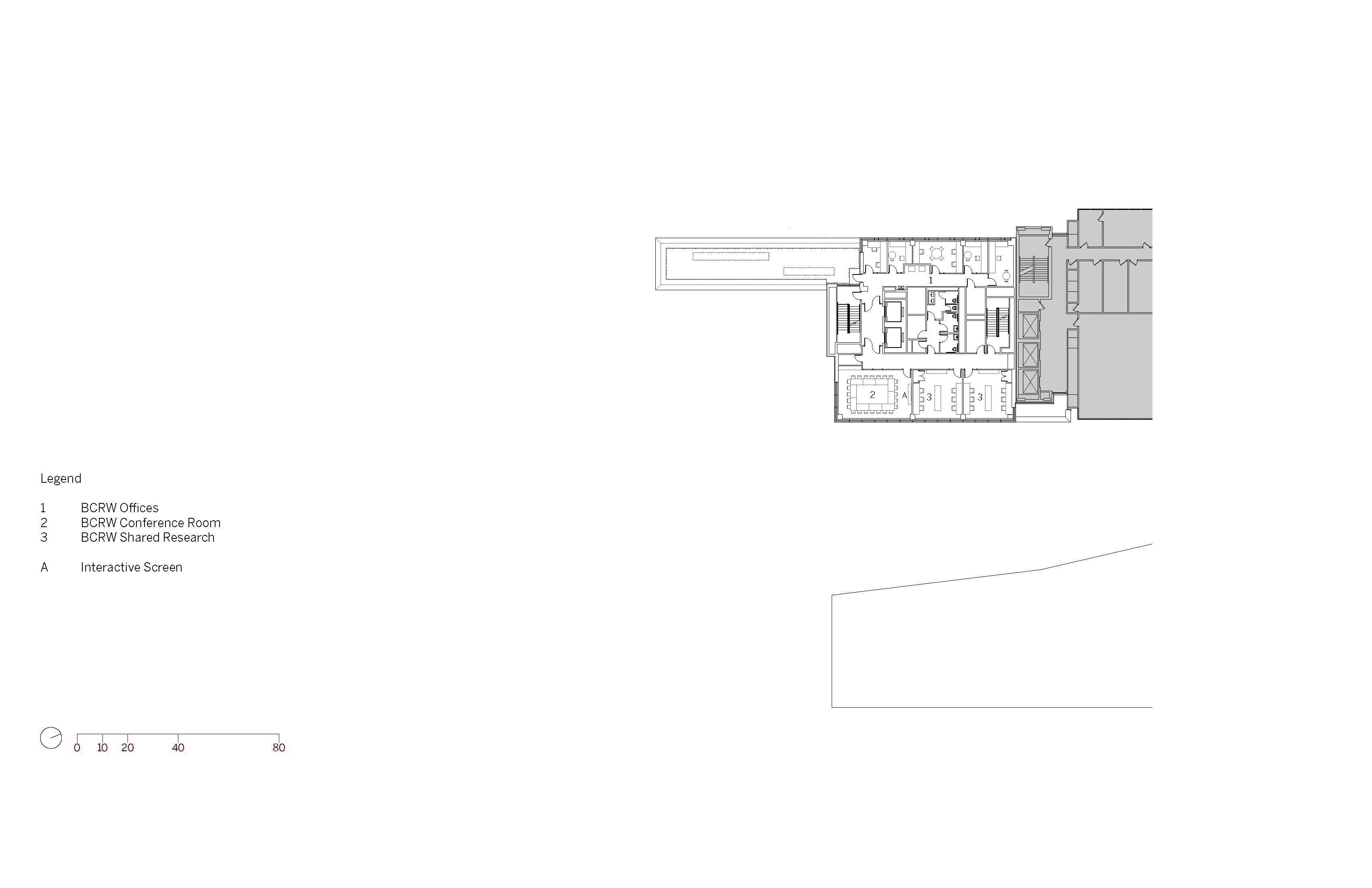 Level 6 Floor Plan Image © SOM}
