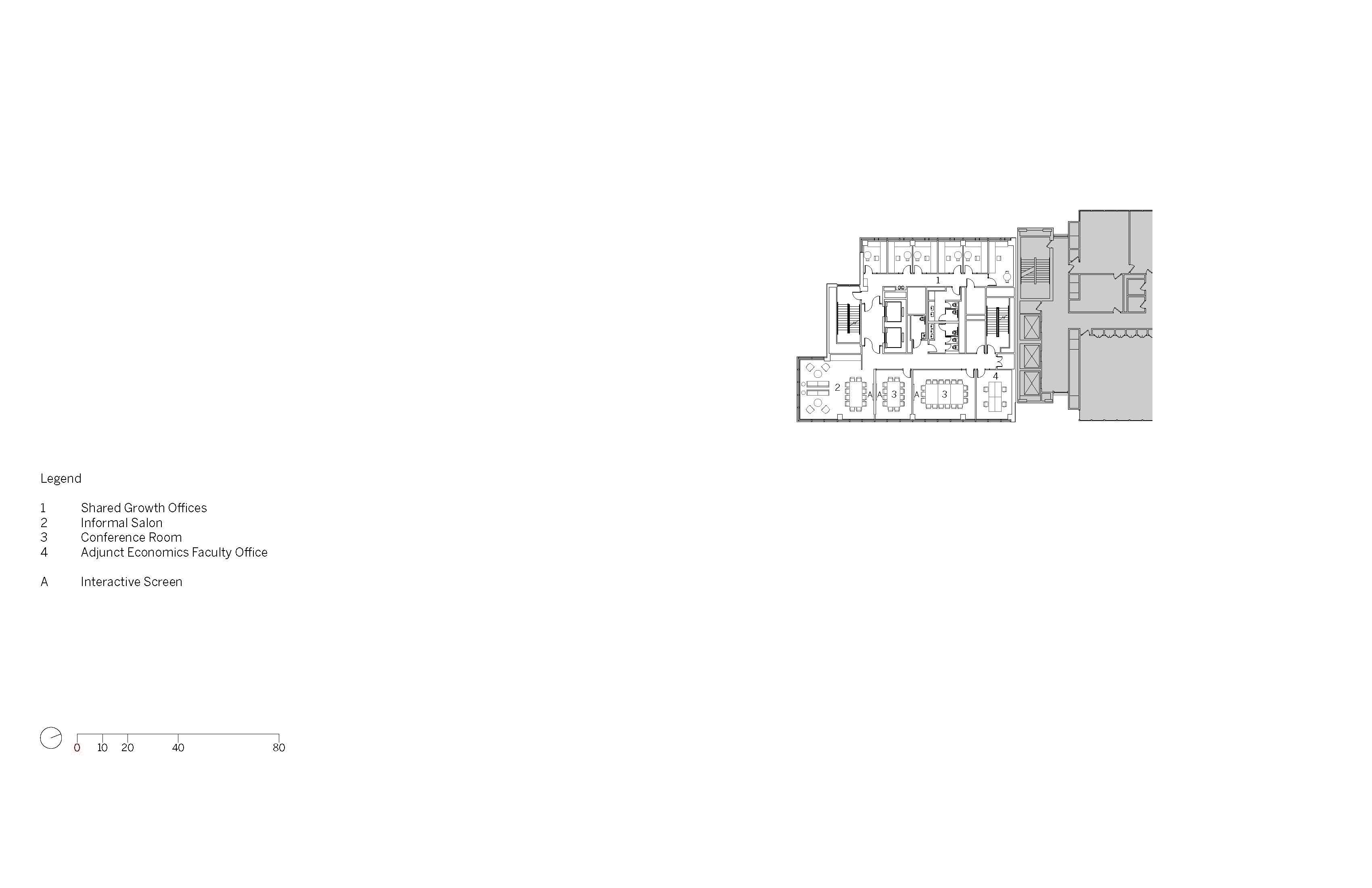 Level 9 Floor Plan Image © SOM}