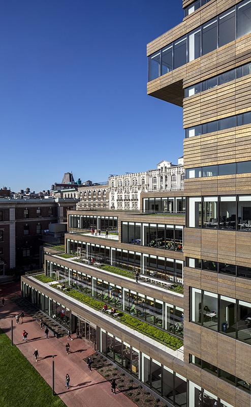 The Milstein Center alternate exterior view Courtesy SOM / © Magda Biernat