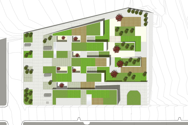 Roof Plan studioVRA (Rubén García Rubio & Sonsoles Vela)}