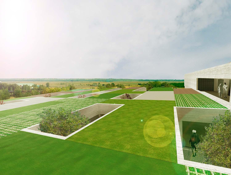 Green Roof View studioVRA (Rubén García Rubio & Sonsoles Vela)}