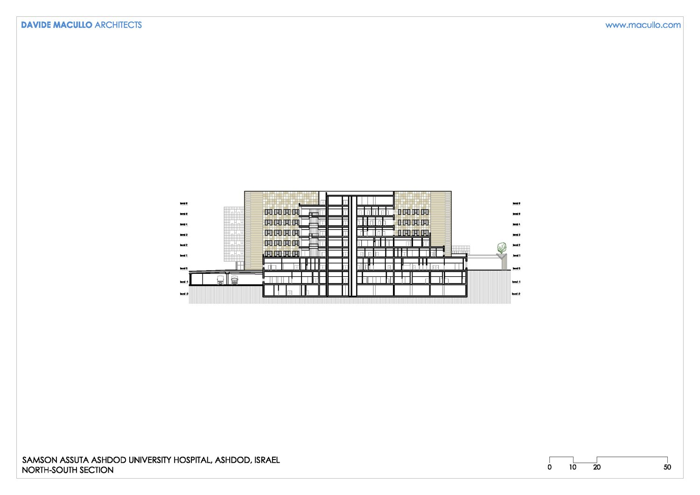 North-South section Davide Macullo Architects SA}