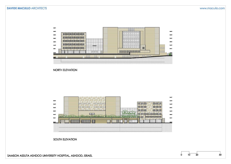 North and South Elevation Davide Macullo Architects SA}