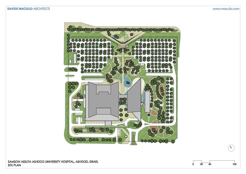 Site plan Davide Macullo Architects SA}