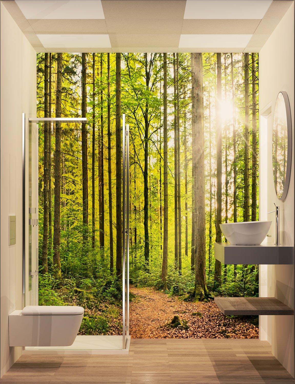 Esempio di un bagno in camera tipo 3ndy Studio