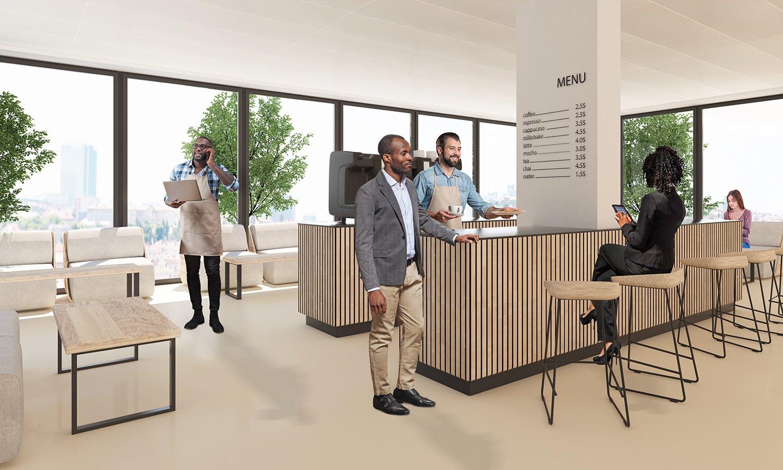 Panoramic bar 3ndy Studio