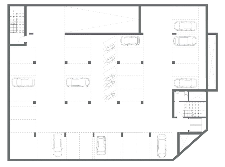Parcheggio - Piano -2 3ndy Studio}