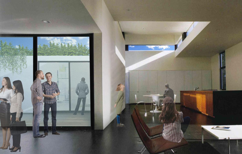 Ambulatori interni con illuminazione e ventilazione naturale MPArchit&cts Studio
