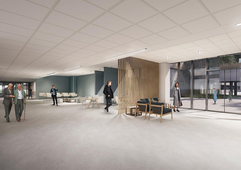 Sala d'attesa DP04 ATIproject
