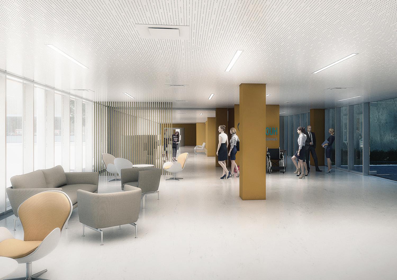 Hall di ingresso ATIproject