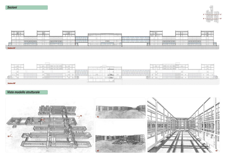 Sezioni e schizzi strutturali ATIproject}