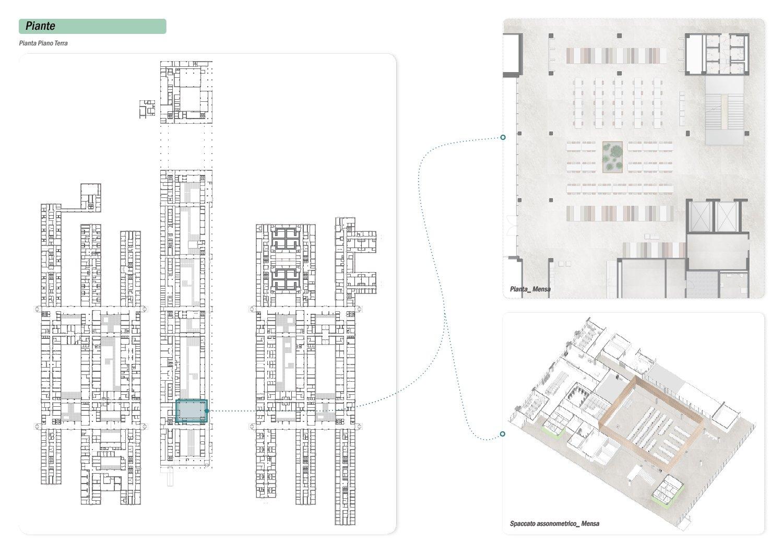Pianta Piano Terra _ Area Mensa DP03 ATIproject}
