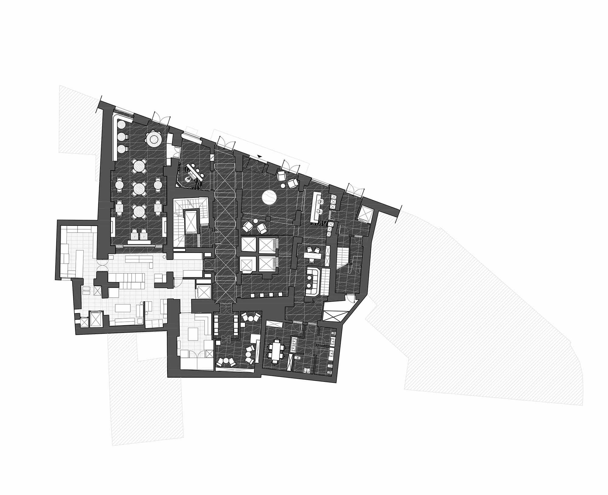 ground floor Plan Studio Marco Piva}
