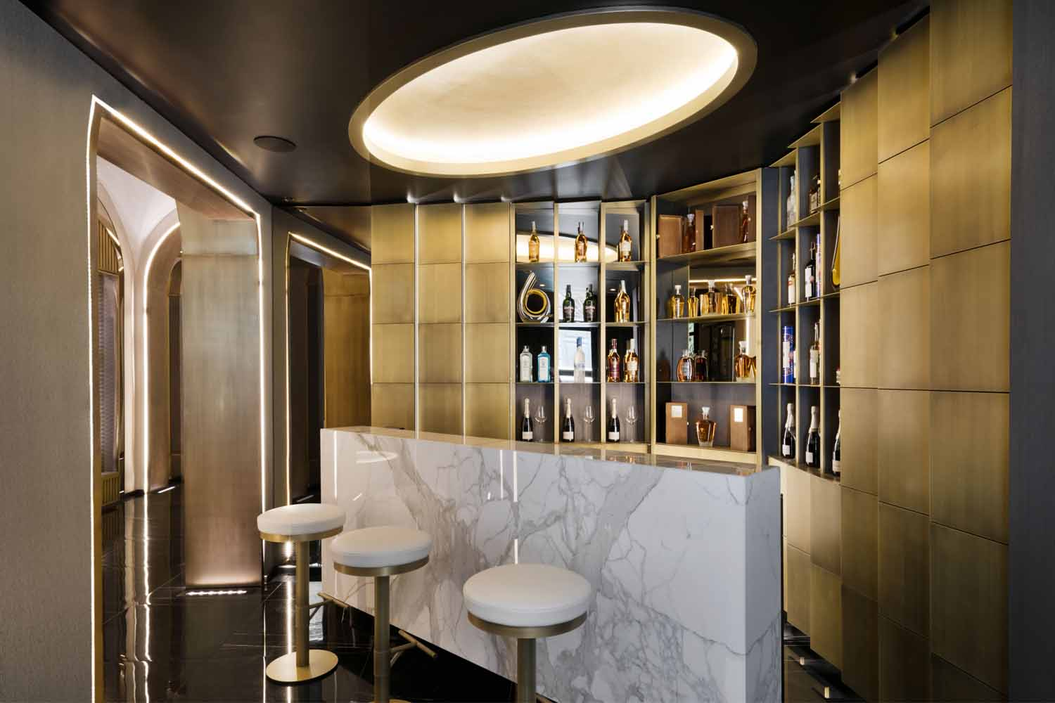 The Pantheon Iconic Rome Hotel_ground floor lobby bar Andrea Martiradonna