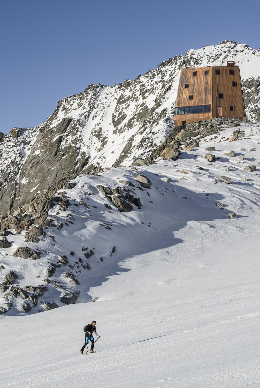 Il rifugio è un punto di riferimento per gli escursionisti dopo una salita faticosa a piedi Oliver Jaist, Bressanone