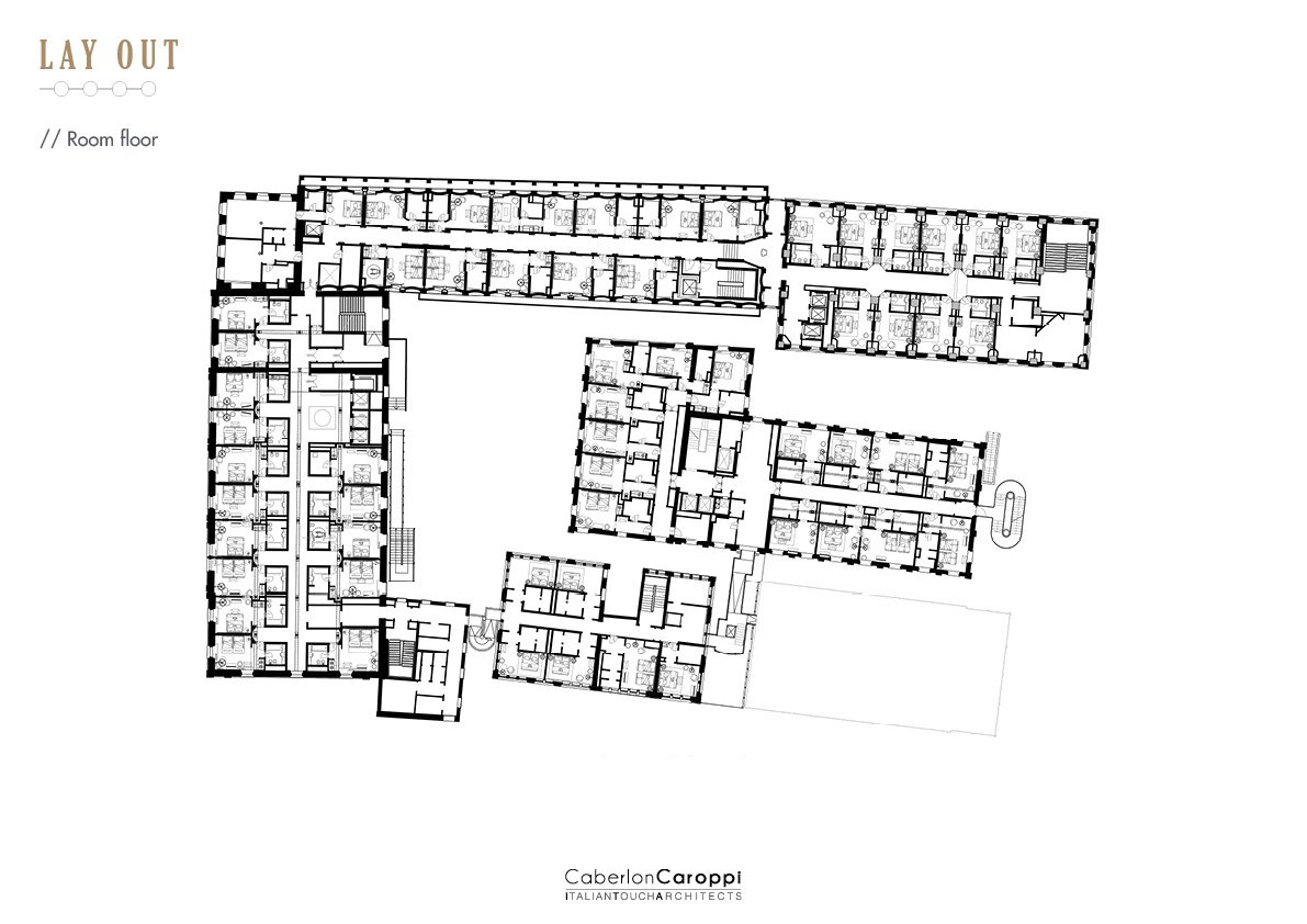 Hilton Molino Stucky- Room floor CaberlonCaroppi}