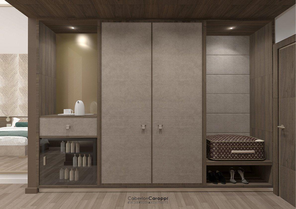 Hotel Mercure Almaty City Center_ Render CaberlonCaroppi Architetti Associati}