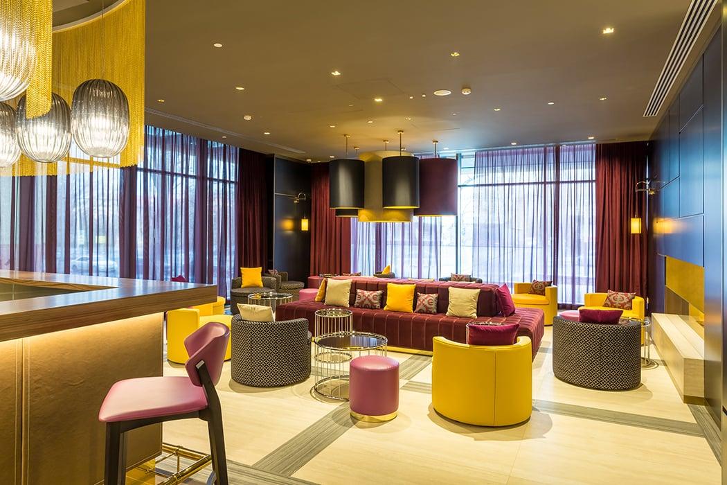 Hotel Mercure Almaty City Center_ Lounge bar Hotel Mercure photographer