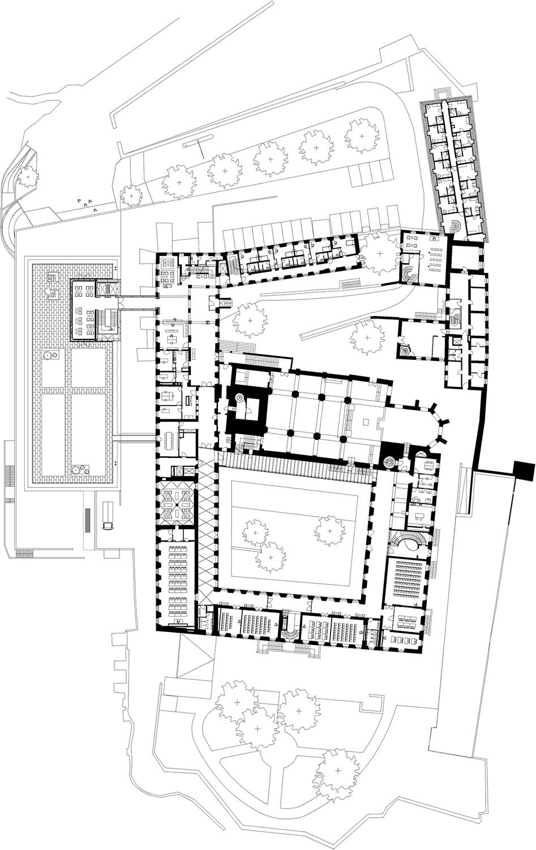 Floor Plan, Level 0, Reception meyerschmitzmorkramer}