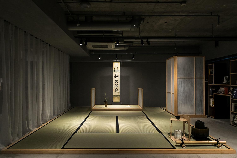 MOVABLE TEA CEREMONY SECTION IN LIBRARY Keishiro Yamada,YAMADA FOTO TECHNIX