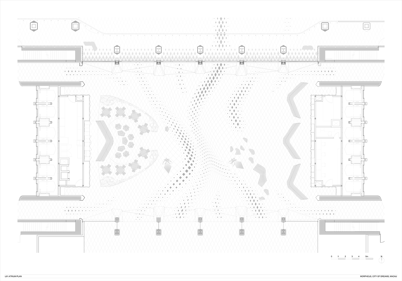 Plan level 01 Atrium Zaha Hadid Architects}