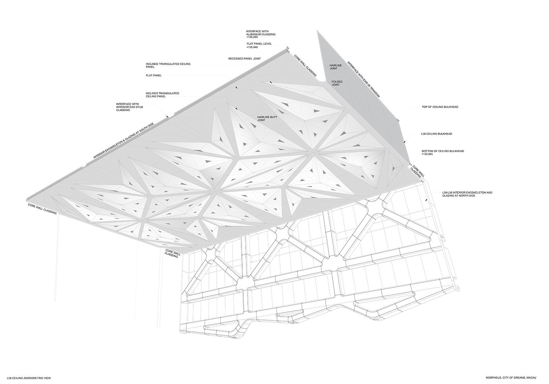 Level 38 Ceiling Axonometric View Zaha Hadid Architects}