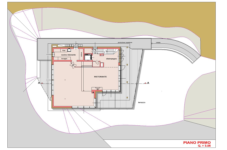 PIANTA PIANO PRIMO AB2ER architecture}