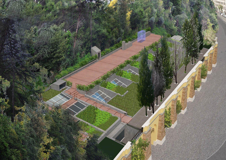 roof garden Monte Aventino andrea lupacchini}