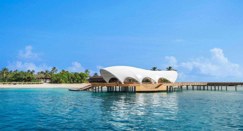 Arrival jetty The Westin Maldives