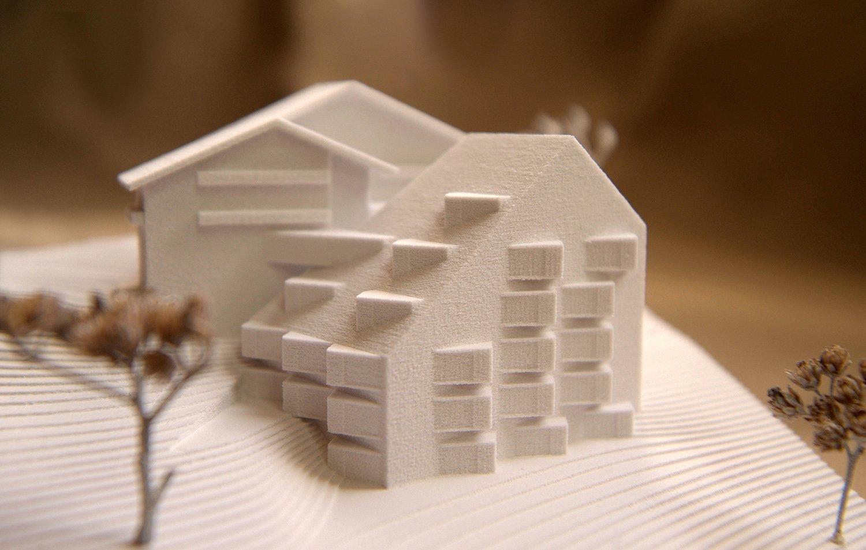 Model - Hotel Bühelwirt Pedevilla Architects}