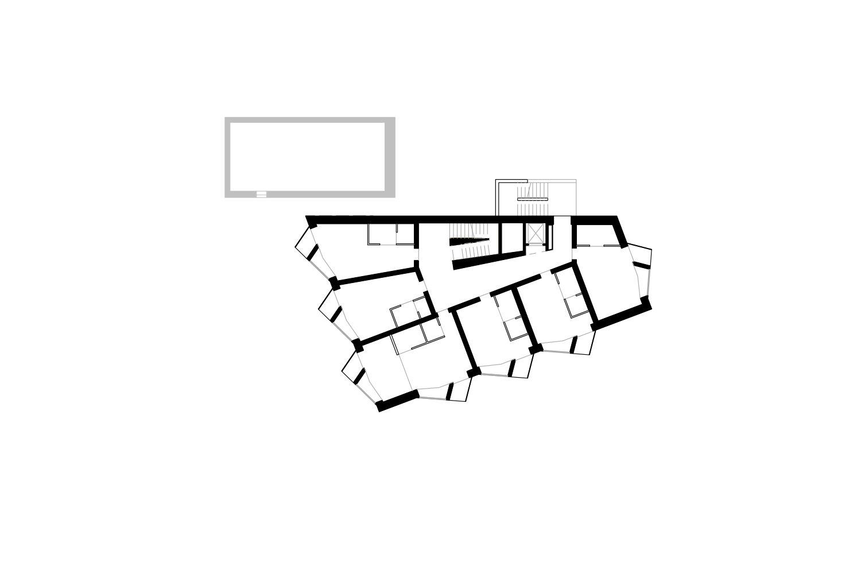 -2 Floor - Bedrooms Pedevilla Architects}