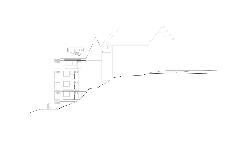 North Facade Pedevilla Architects}