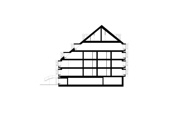 Section Pedevilla Architects}