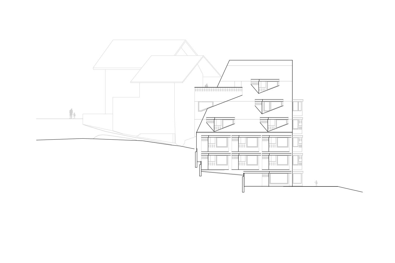 South Facade Pedevilla Architects}