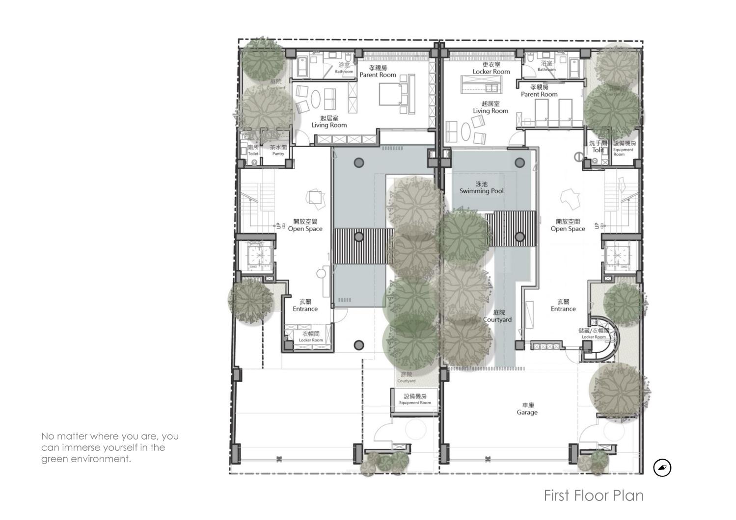First Floor Plan Chain10 Architecture & Interior Design Institute}