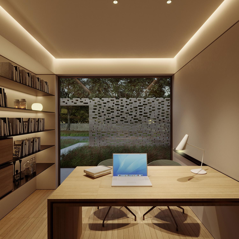 vista esterna dallo studio padronale Arch. Salvatore Terranova
