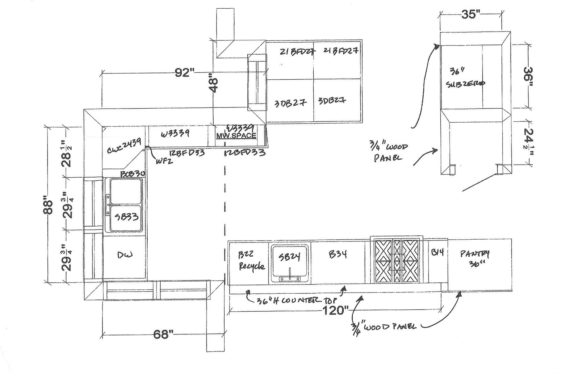 KItchen Plan Nichols Design Associates, Inc.}