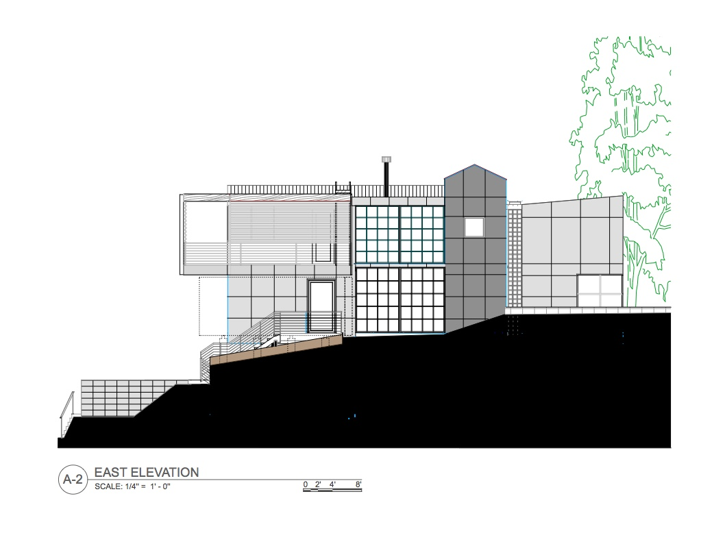 East Elevation Nichols Design Associates, Inc.}