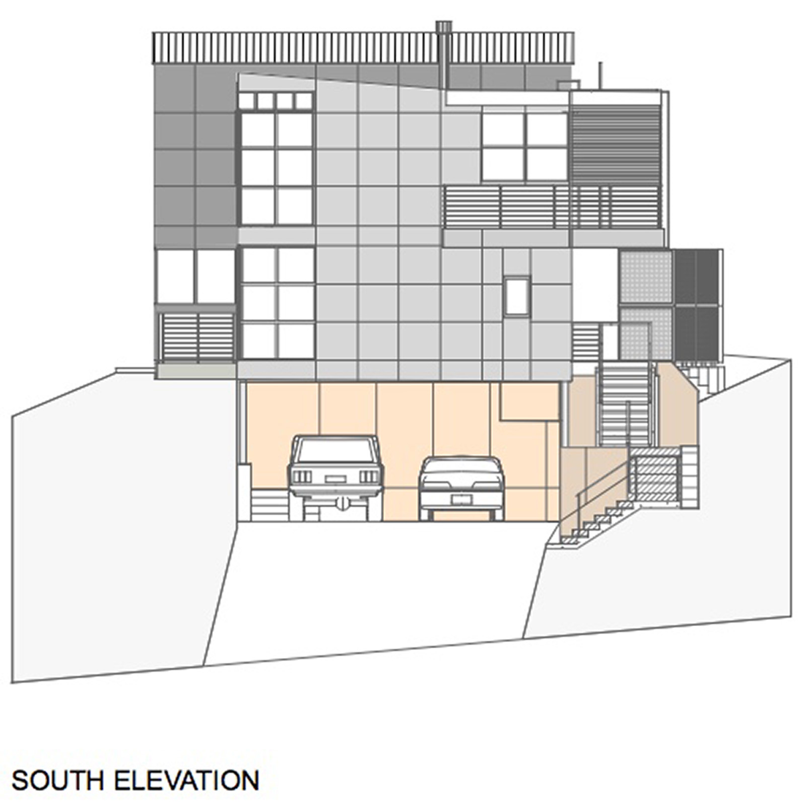 South Elevation Nichols Design Associates, Inc.}