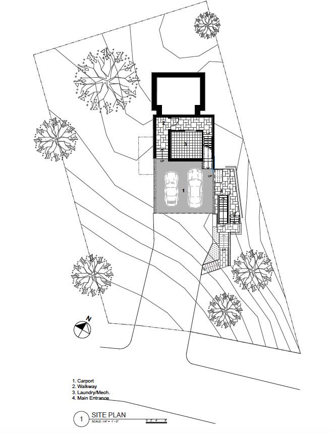 Site Plan Nichols Design Associates, Inc.}